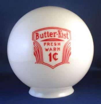 GLOBE (6 inch): Butter-Kist Fresh Warm 1c